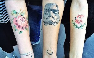 Cross-Stitch-Tattoos