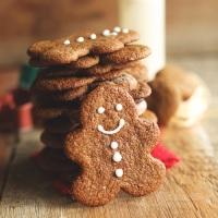 Μπισκότα με άρωμα Χριστουγέννων.