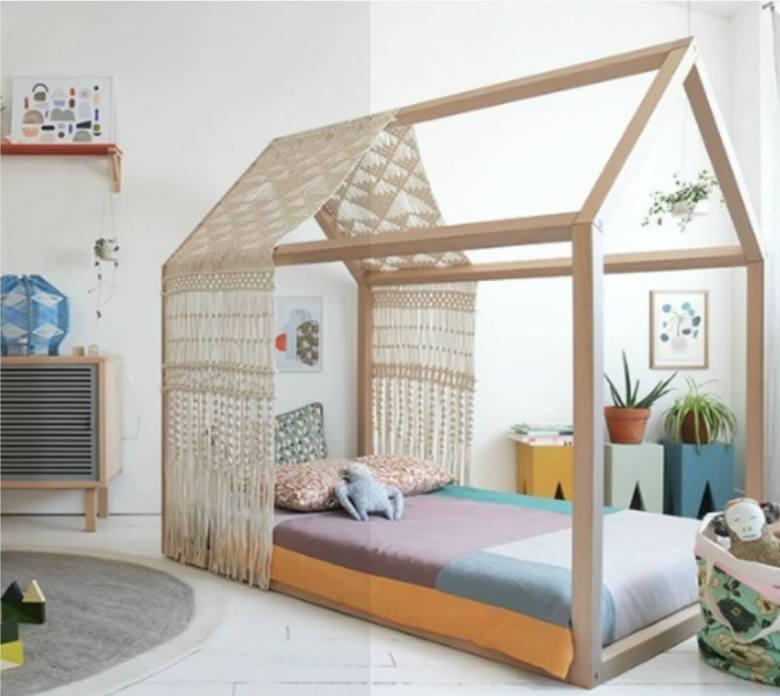 Montessori κρεβάτι σπιτάκι