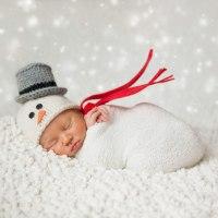 Νεογέννητα μωρά φωτογραφίζονται σε Christmas mood!