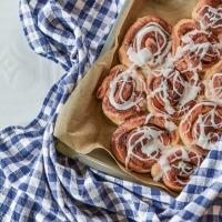 Cinnamon rolls νηστίσιμα.